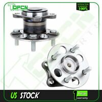 Pair (2) New REAR For Toyota Yaris 06 07 Wheel Hub and Bearing Assembly 4 Lug