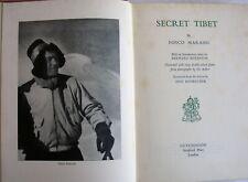 Secret Tibet Fosco Maraini 1952 1st