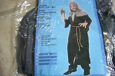"""NEW - Hooded Monk Fancy Dress Costume - New in packet  size M/L - chest 42 - 45"""""""