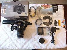 Olympus EVOLT E-420 10.0MP Digital SLR Camera - Black (Kit w/ 14-42mm Lens)