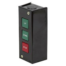 Up Down Stop Momentary Pushbutton Control Station Switch, PBS-602, 11-3512-B