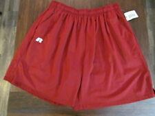 Mens Shorts Size Large L Crimson Athletic Basketball Sport Exercise Short