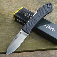 Ka-Bar Dozier Black Handle AUS8A Zytel Handle Lockback Knife 4062
