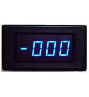 3 1/2 Blue  LED Digital Volt  Panel Meter 5135A DC 500V