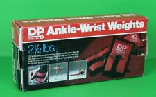 Vintage DP Ankle Wrist Weights Each Weigh 2 1/2 lbs Pre-Owned