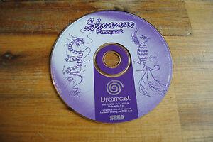 Jeu SHENMUE PASSPORT sur SEGA DREAMCAST (CD seul, remis à neuf)