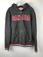HUDSON BAY CO. Men's Grey/Red Olympics CANADA Hoodie Size M