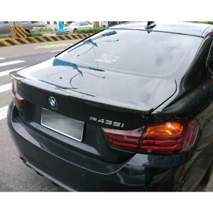 Painted For BMW 4 Series F32 Coupe M4 Look Rear Trunk Spoiler 420i 430i 440i
