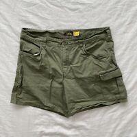 Cabela's Womens Cargo Shorts Green Size 10