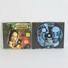 TOMB RAIDER V 5 Chronicles PS1 Playstation p1
