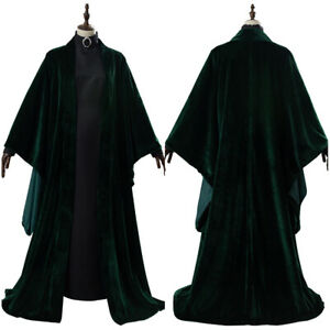 Minerva McGonagall Cloak Cosplay Costume Halloween Uniform Suit