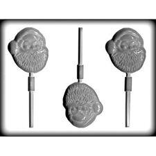 Santa Christmas Hard Candy Lollipop Mold  CK #4249 NEW
