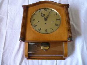 VINTAGE MAUTHE CHIME WALL CLOCK MADE IN GERMANY
