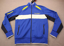 RALPH LAUREN POLO SPORT Mens Blue Full Zip Performance Wicking Jacket NWT S $145