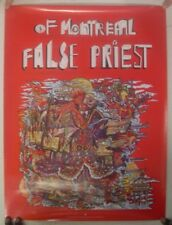 Of Montreal Poster False Priest Battle-Ready Fish 18x24 Mint