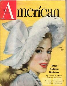 1948 American May - Our unguarded borders; Quakers; Art Linkletter; Bobby Brown