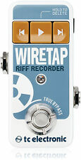 TC Electronic Wiretap Riff Recorder Pedal Wire-Tap Wire Tap - IN BOX!!!