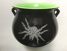 YANKEE CANDLE WITCHES BREW CERAMIC CAULDRON CANDLE RETIRED PATCHOULI HTF