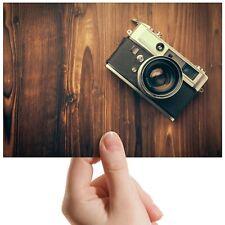 "Retro Vintage Wood Camera - Small Photograph 6"" x 4"" Art Print Photo Gift #14518"