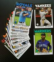 Updated 2/26 -2021 Topps 1986 Topps 35th Anniversary - UPick - Complete Your Set