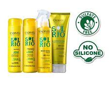 CADIVEU SULPHATE FREE HAIR STRENGTH REPAIR PROTEIN TREATMENT KIT SOL RIO 4 STEPS