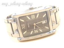 RELIC by FOSSIL ZR77109S  Black Dial Gun Metal Bracelet Men's Watch