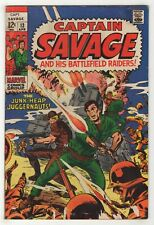 Captain Savage and His Battlefield Raiders #13 (Apr 1969, Marvel) Don Heck m