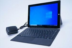 Microsoft Surface 3 Intel Atom X7-Z8700 1.60GHz 128GB SSD 4GB RAM Win.10 | READ