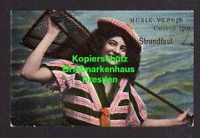 114882 AK Wetzlar Musik Verein Strandfest 1906 Künstlerkarte
