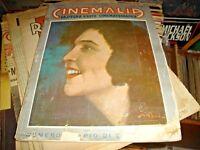 CINEMALIA Rassegna d'arte cinematografica Anno II° n. 1 - 1 GENNAIO 1928