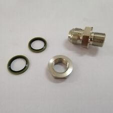 1 set Turbo Oil Pan/Oil Return Drain Plug Adapter Bung Fitting Kit 10AN no Weld
