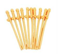 WILLY STRAWS X 15 PACK, LADIES HEN PARTY NIGHT NOVELTY DICKY STRAW ACCESSORY
