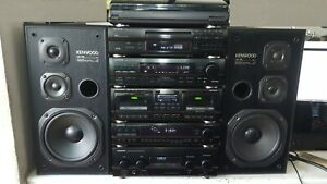 KENWOOD HiFi 6 pieces Stack system separates A-76 X-76 T-76L GE-760 DP-76 LS-76
