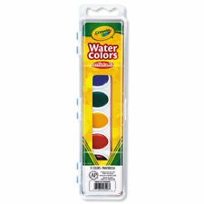 WATERCOLORS,8ST,OVAL,AST