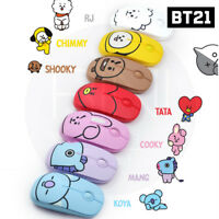 BTS BT21 Official Authentic Goods Wireless Silent Mouse 7Characters + Tracking #