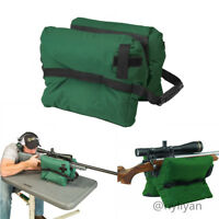 Front Sand Bag for Shooting Hunting Rifle Gun Bench Rest  Stand Bag Equip Green