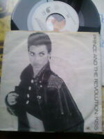 """7"""" PRINCE AND THE REVOLUTION KISS OR COVER VG+ VINILE EX"""