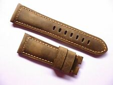 26mm Leather Vintage Strap compatible with Panerai - 26/22mm Band