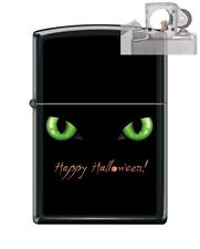 Zippo 218 happy halloween black cat Lighter with PIPE INSERT PL
