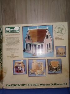 Miniature Dollhouse Kit Greenleaf: The Coventry Cottage, W Furniture