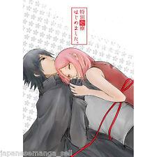 NARUTO doujinshi Sasuke X Sakura (A5 32pages) CROUTON Noharu Tokubetsu Shinryo