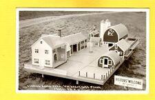 RPPC Juneau,WI Sunrise Stock Farm Wm Kreuziger, miniature building layout view 1