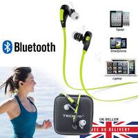 FX4 Bluetooth 4.0 Sport Wireless Earphones Earbuds Sweatproof Gym Running NEW UK