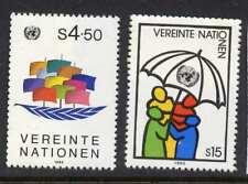 United Nations - Vienna 50-1 MNH Ship of Peace, Sharing Umbrella