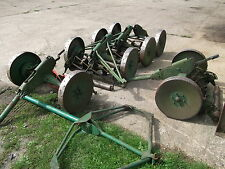 BREAKING  RANSOMES GANG MOWERS FOR  SPARES 1 WHEEL NUT