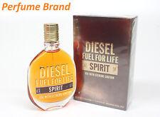 Diesel Fuel For Life Spirit 2.5 oz 75ml Eau de Toilette Spray For Men