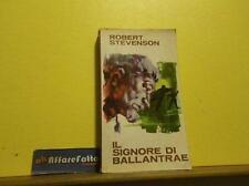 ART L1153 LIBRO IL SIGNORE DI BALLANTRAE - STEVENSON - ANNO 1967