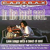 CAR TRAX - IN THE BACK SEAT - LOVE SONGS - 12 TRACK MUSIC CD - LIKE NEW - I297