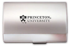 Princeton University Tigers ENGRAVED SILVER BUSINESS CARD CASE holder new gift