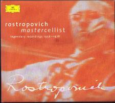 Rostropovich Dvorak Schumann Tchaikovsky 2cd Karajan Seiji Ozawa Rostropowitsch